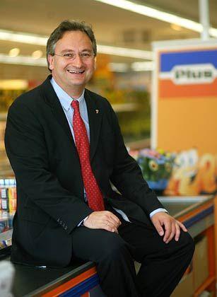Verlässt Plus mit unbekanntem Ziel: Europachef Hürter