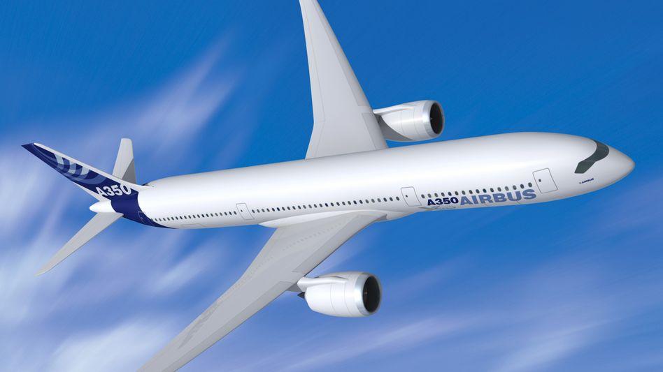 Teure Verspätung: Der A350 kommt erst im ersten Halbjahr 2014 - frühestens