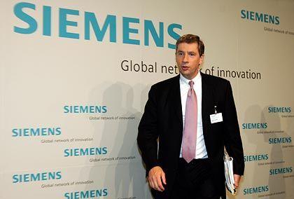 Siemens-Chef Klaus Kleinfeld: Kleinster Teil von SBS wird verkauft