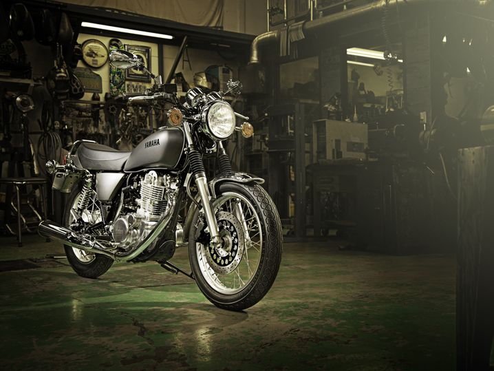 Kavalier der alten Schule: Die Yamaha SR 400