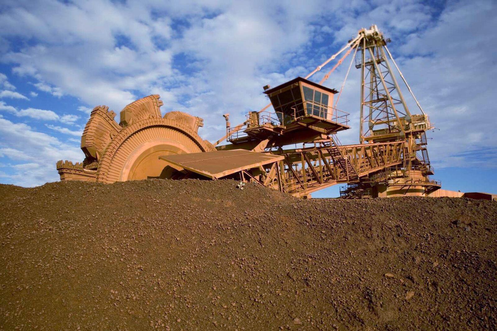 BHP Billiton / Eisenerz / Abbau / Australien / Rohstoffe