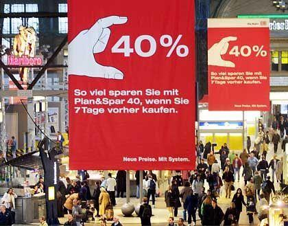 DB-Werbung: Klassiker unter den Watschenkandidaten