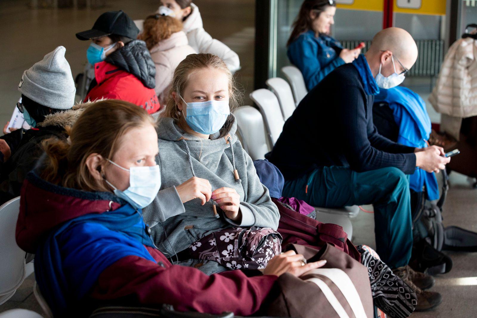Coronavirus - Flughafen Berlin-Tegel