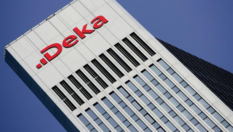 """Deka-Zentrale in Frankfurt: Der """"Deka-ImmobilienEuropa"""" ist einer der größten Immobilienfonds hierzulande - und hat keine Probleme mit der Liquidität"""