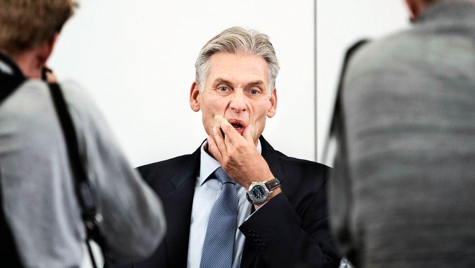 Kündigte bereits seinen Rücktritt an: Thomas Borgen, Vorstandschef der Danske Bank, der größten dänischen Bank