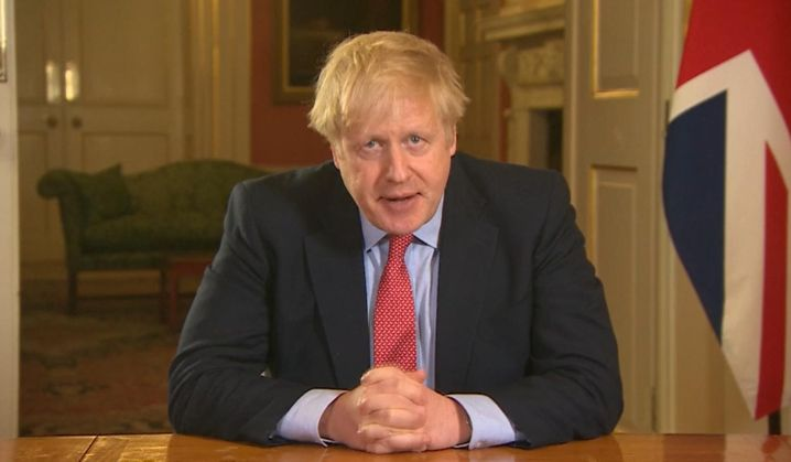 Der britische Regierungschef Boris Johnson hat die Intensivstation mittlerweile verlassen und sich beim Krankenhauspersonal für die Hilfe bedankt