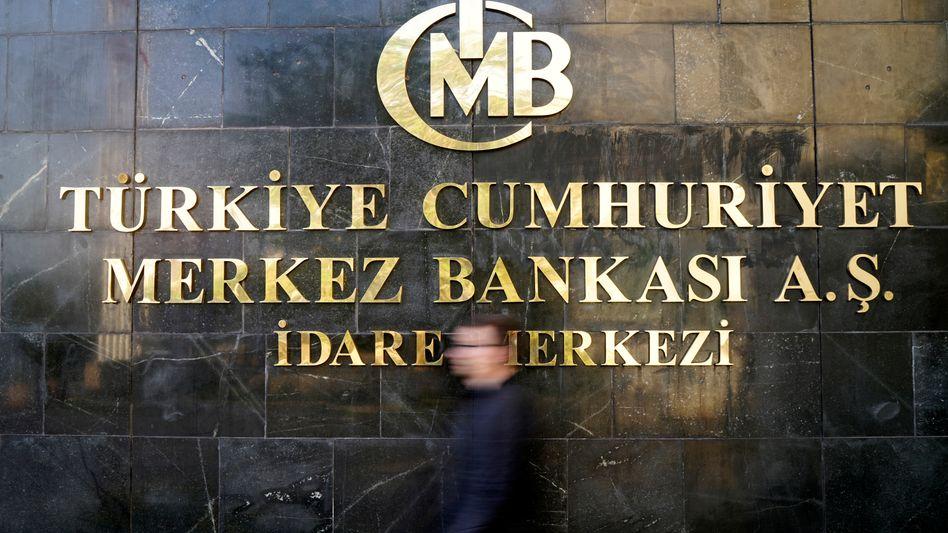 Türkische Notenbank in Ankara