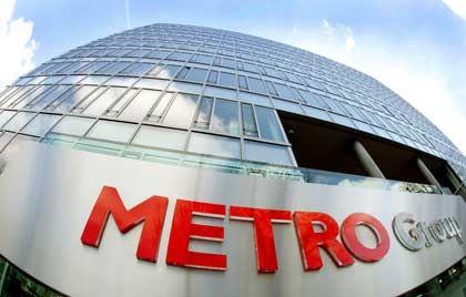 Unter Druck: Nach Ankündigung der Aktienplatzierung ist die Metro-Aktie am Freitag größter Verlierer im Dax
