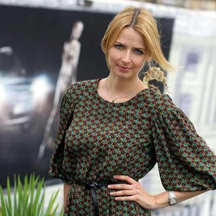 Eva Padberg: Das Model bei der Hugo-Boss-Show auf der Berliner Fashionweek