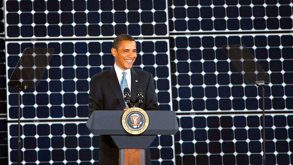 US-Präsident Obama: Solar hui, Kohle pfui