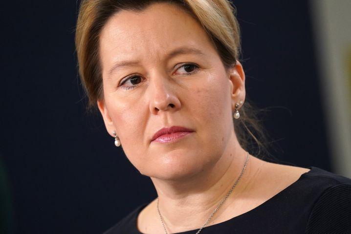 Bezweifelt die rechtliche Umsetzbarkeit: SPD-Spitzenkandidatin und voraussichtlich künftige Bürgermeisterin von Berlin, Franziska Giffey