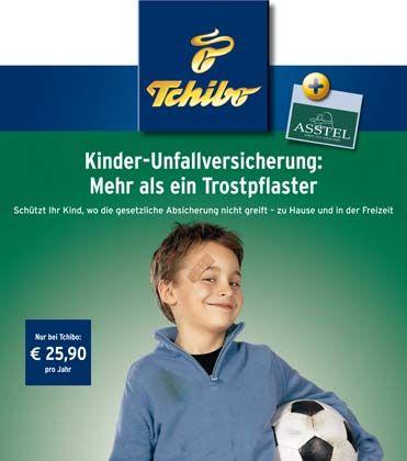 Längst nicht nur Kaffee: Die Asstel (Gothaer-Konzern) vertreibt bis Ende Mai über Tchibo-Filialen eine Kinder-Unfallversicherung. Ob nach Urteil des Wiesbadener Landgerichts diese Verkaufsaktion ebenfalls als wiederrechtlich zu interpretieren ist, ist unklar.