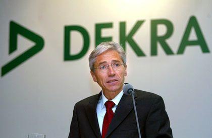 Räumt seinen Posten: Dekra-Chef Schmidt