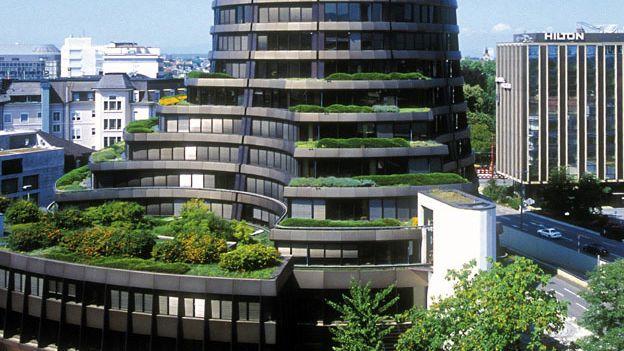 In diesem Turm herrscht Vernunft: Sitz der Bank für Internationalen Zahlungsausgleich in Basel.