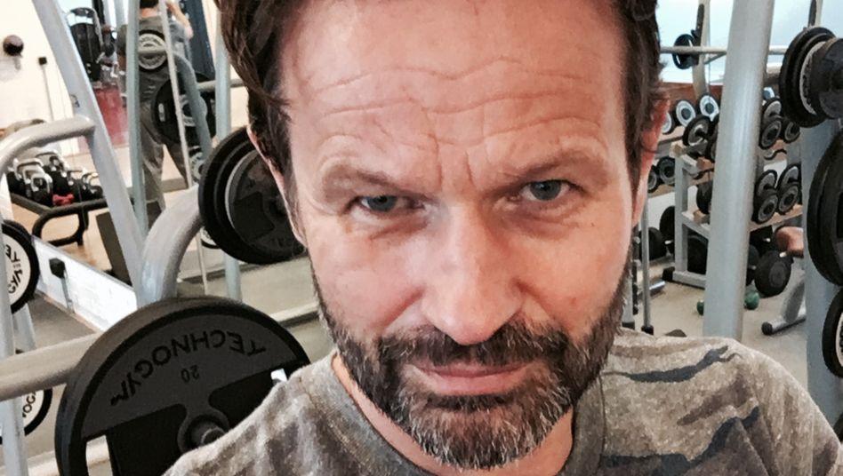 Werbe-Guru André Kemper beim Training