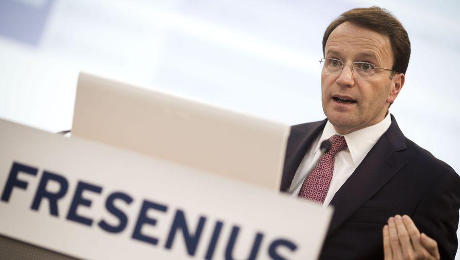 Zuversichtlich: Fresenius-Chef Ulf Schneider