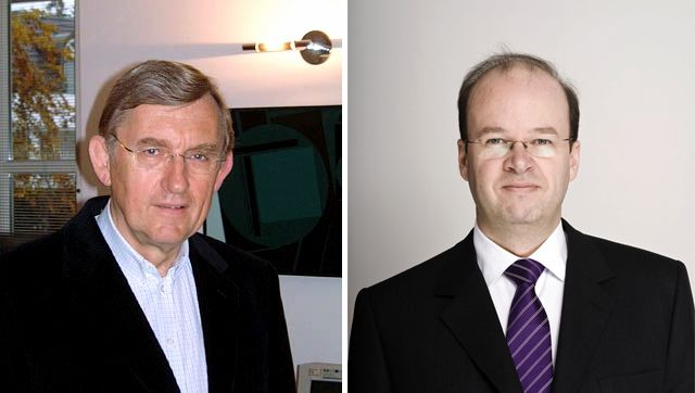 Headhunter Dieter Rickert (l.) und Rick Fulghum (r.): Ende einer Gemeinschaft