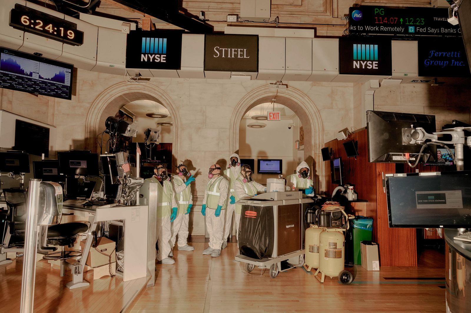 Virus Stock Exchange