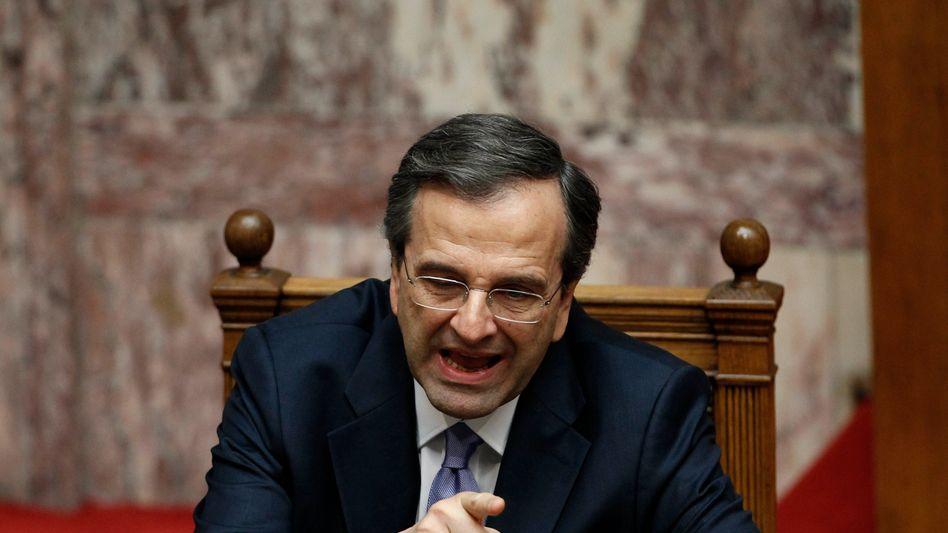 Griechenlands Premierminister Antonis Samaras: Feldzug gegen Bestlichkeit