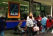Aldi-Laden: Mit so was wird man Milliardär