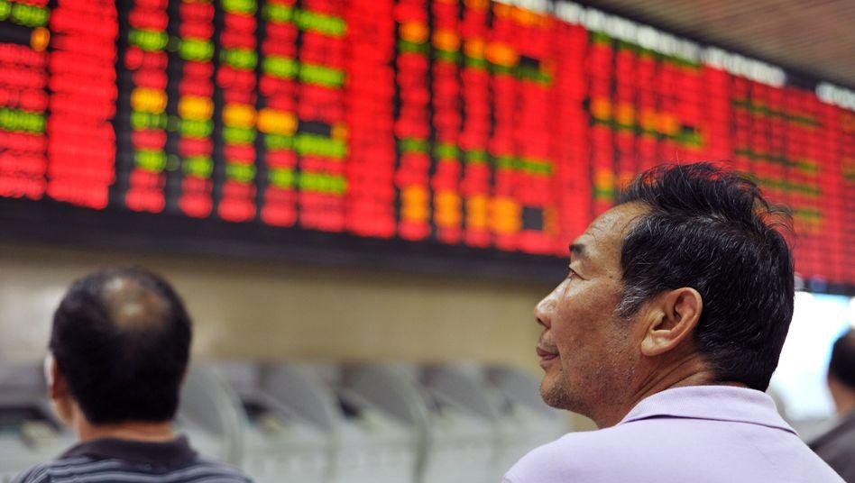 Börse in Shanghai: Auch in den Schwellenländern gewinnen institutionelle Investoren an Einfluss - und raten von kurzfristig orientiertem Management ab