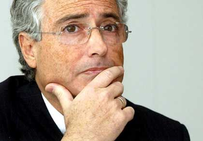 Verliert sein Ortsmonopol: Telekomchef Ron Sommer