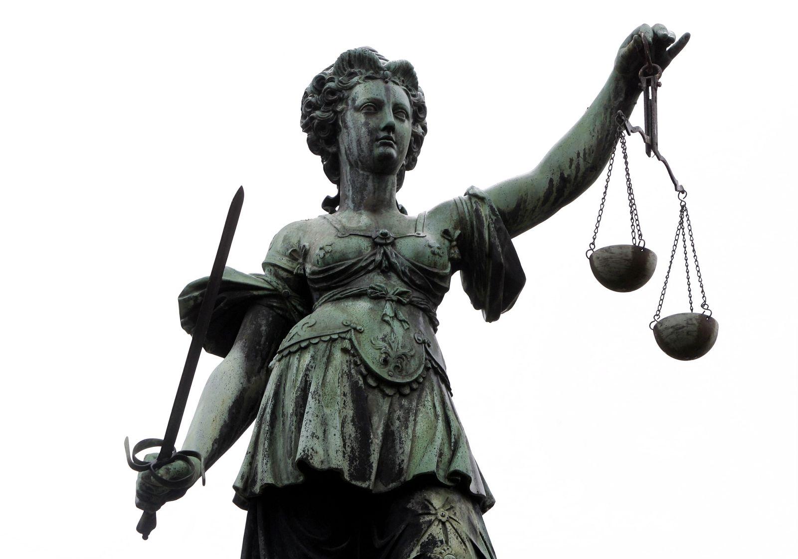 NICHT VERWENDEN Symbolbild Justitia / Gerechtigkeit / Gericht