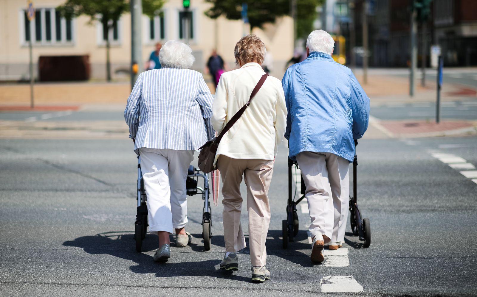 Koalitionseinigung im Grundrentenstreit/ Grundrente/ Rentner