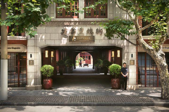 Das Capella-Hotel in Shanghai