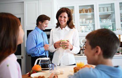 """Projekt """"Familie"""": Verhaltensweisen aus dem Beruf werden auf das Privatleben übertragen"""