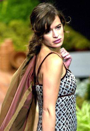 Tochter der Rocklegende: Jade Jagger feierte mit Gästen eines deutschen Mobilfunkunternehmens eine Sommerparty auf Ibiza