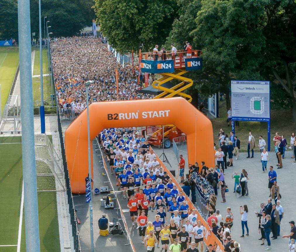 B2RUN DAK Deutsche Firmenlaufmeisterschaft / Hamburg