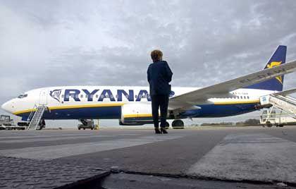 Ryanair: Weniger schnell voran wie erwartet