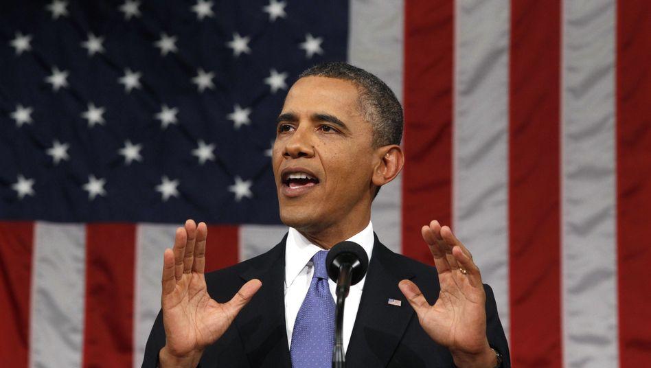 """Barack Obama bezeichnet die Wahl als """"historischen Moment für die Mittelklasse"""""""