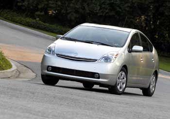 Hybridantriebstechnik für die Zukunft: Toyota-Modell Prius