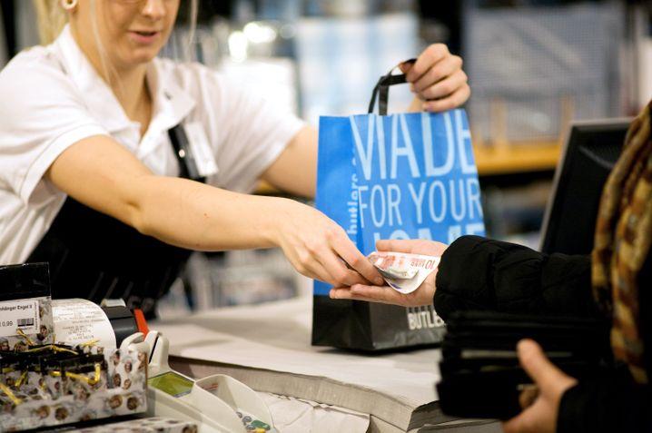 Auch im Einzelhandel trübte sich das Geschäftsklima erneut ein