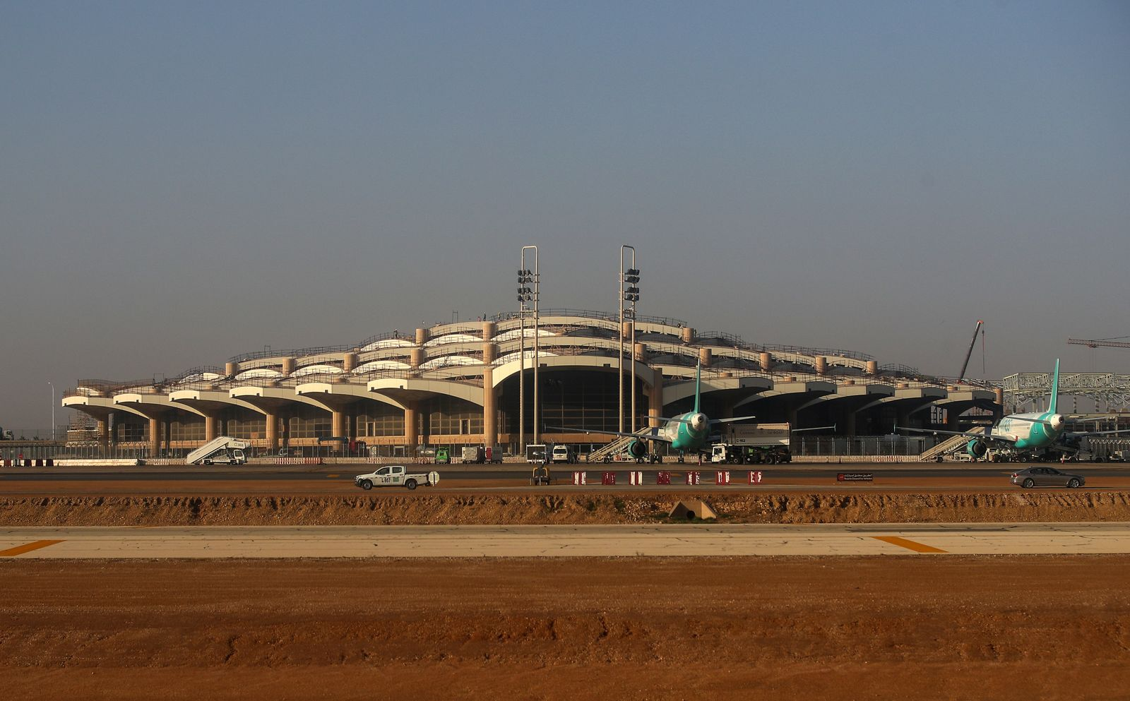 RIYADH, SAUDI ARABIA - DECEMBER 8, 2019: King Khalid International Airport. Valery Sharifulin/TASS PUBLICATIONxINxGERxAU
