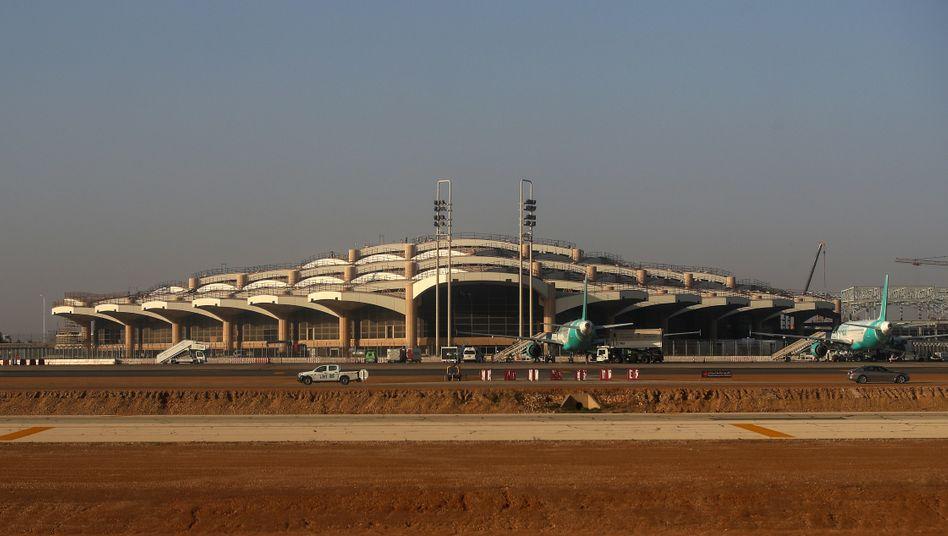 Flughafen von Riad in Saudi-Arabien