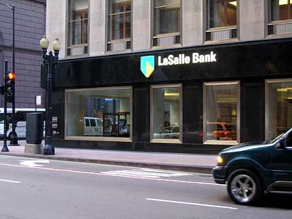 Legal verkauft: LaSalle Bank in Chicago