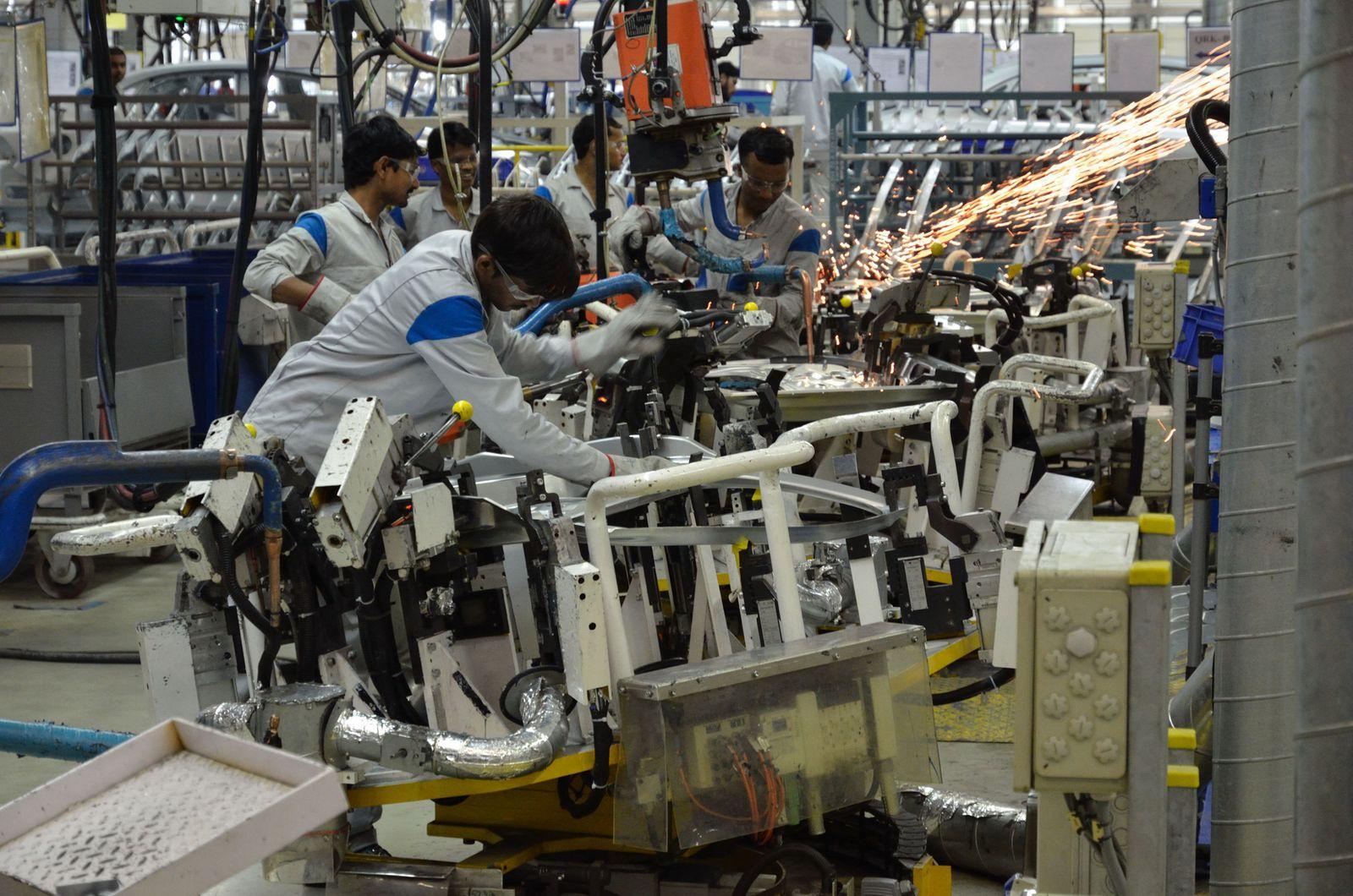 Volkswagen Indien / VW-Werk Pune