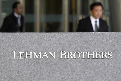 Eine Bank macht Sorgen: Lehman Brothers soll US-Medien zufolge eine Gewinnwarnung herausgeben
