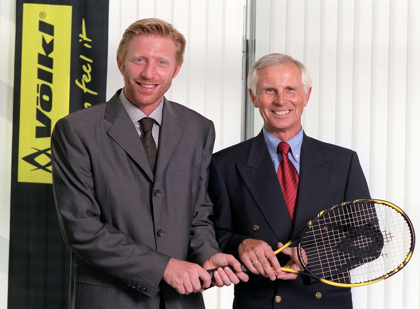 Boris Becker steigt als Gesellschafter bei Völkl ein