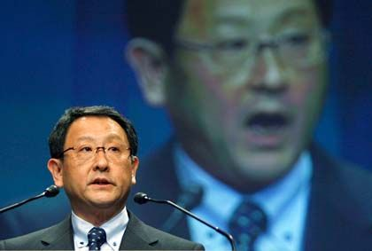 Wieder selbstbewusst: Konzernchef Toyoda