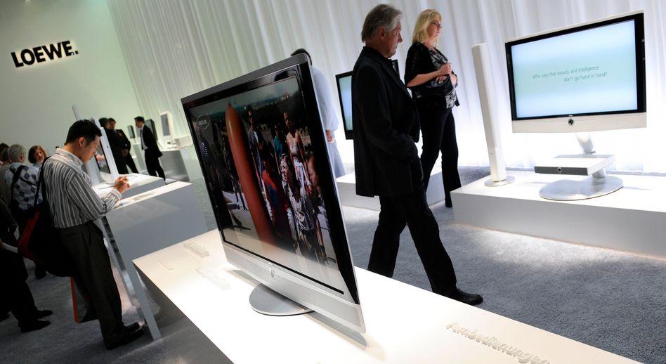 TV-Geräte von Loewe: Mit dem chinesischen Partner Hisense dürften auch Teile der Produktion nach Asien verlagert werden