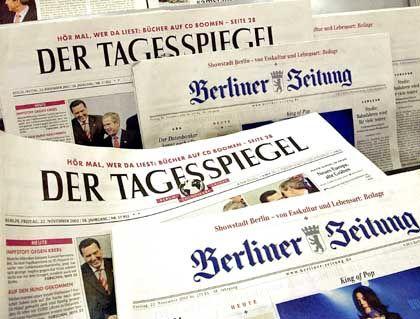 Umkämpfter Markt: Berliner Zeitungen