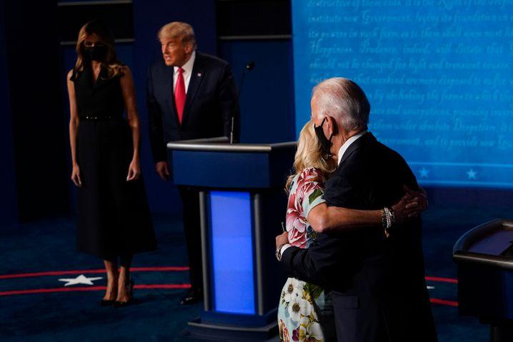 Donald Trump oder Joe Biden: An diesem Dienstag fällt in den USA die Entscheidung