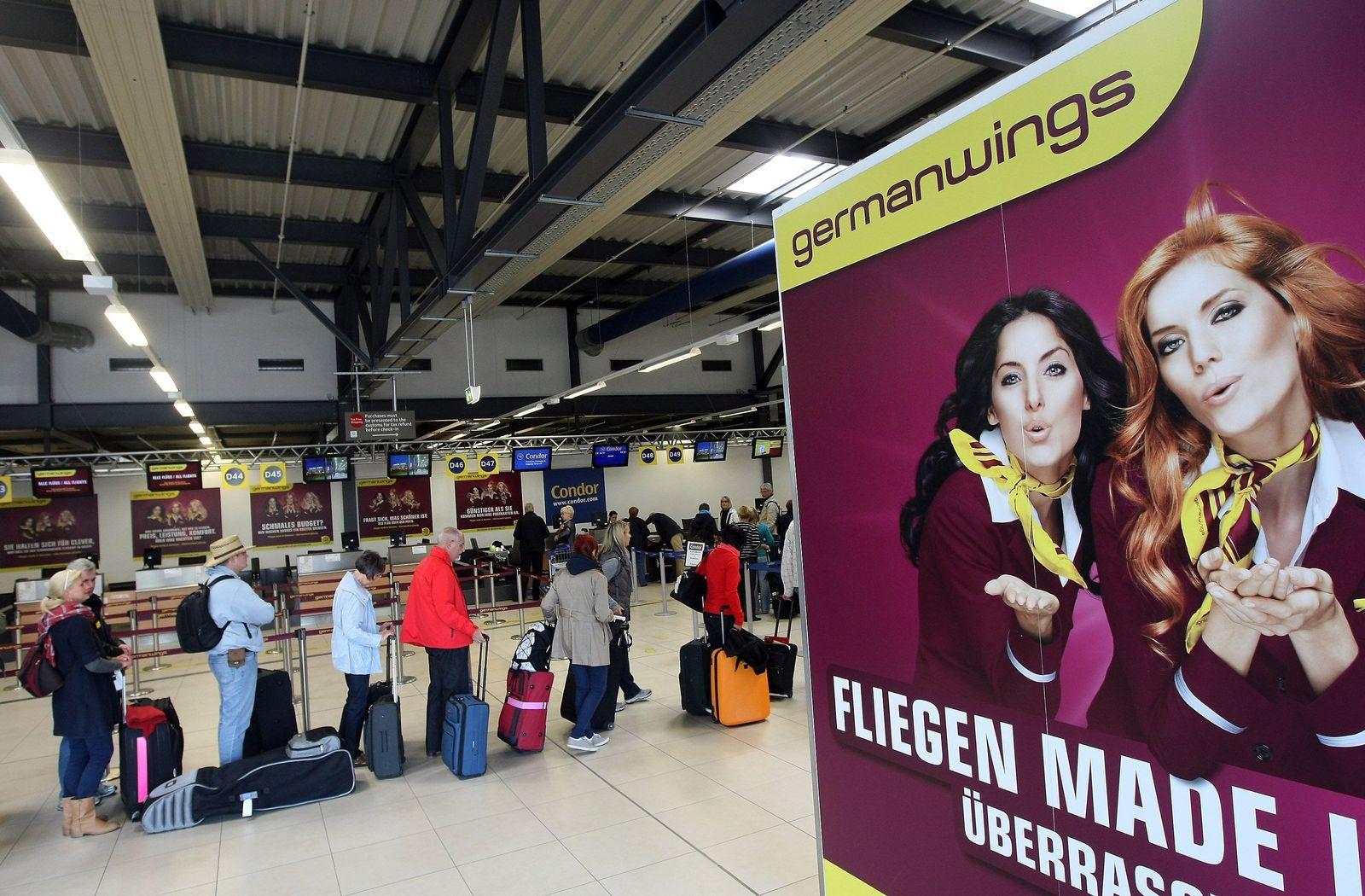 Germanwings check-in