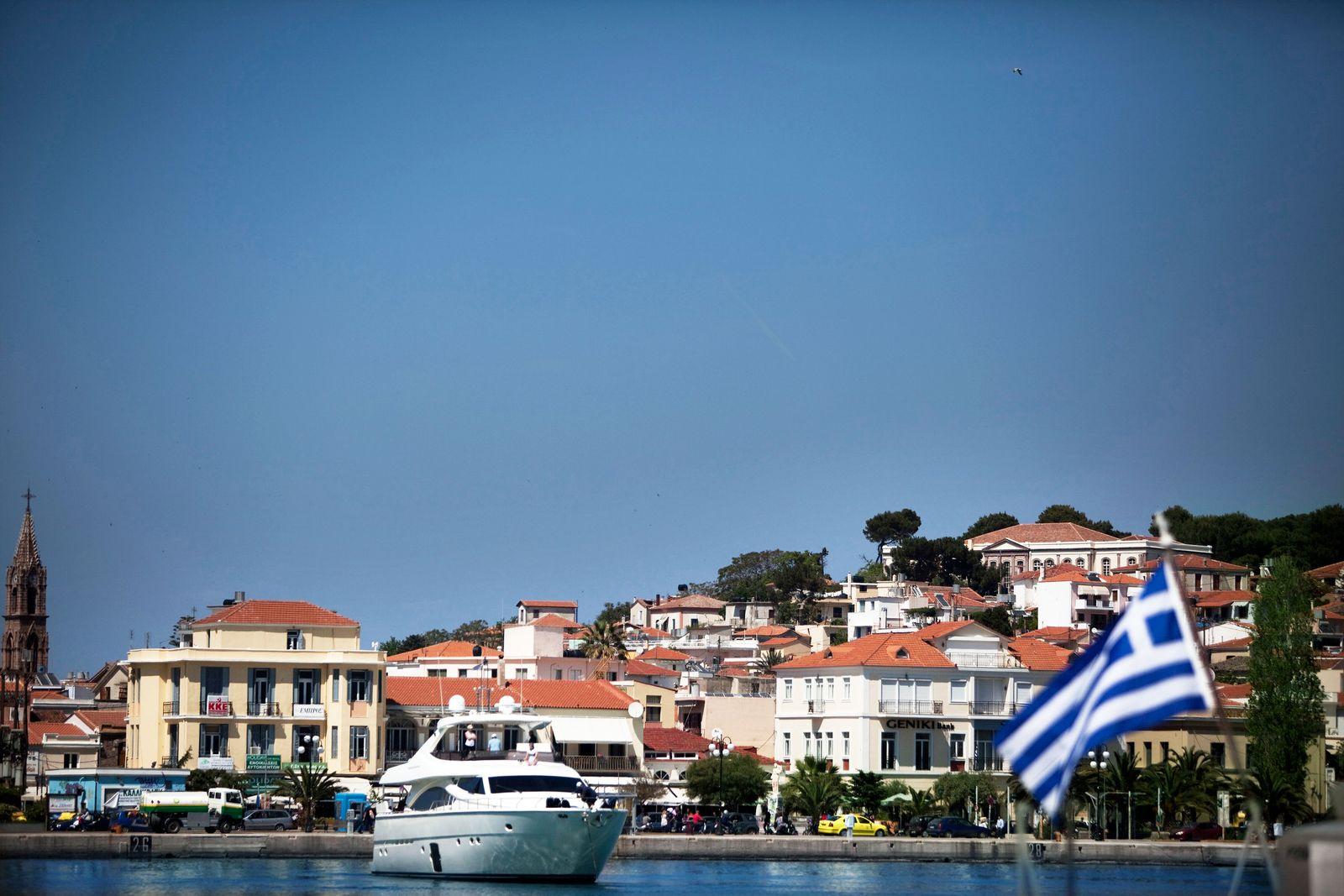Griechenland / Reichtum / Yacht