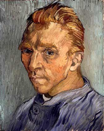 Vincent van Gogh: Porträt des Künstlers ohne Bart