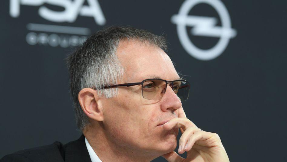 PSA-Chef Carlos Tavares: Peugeot PSA, die deutsche Tochter Opel sowie die Total-Tochter Saft bilden einen Verbund für die Fertigung von Batteriezellen